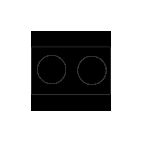 Edelstahlplatte magnetisch, reflektierend