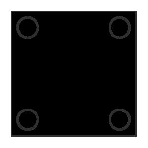 Dekapiert und geschmiert Stahlplatte