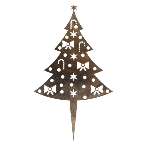 Sapin de Noël en Corten