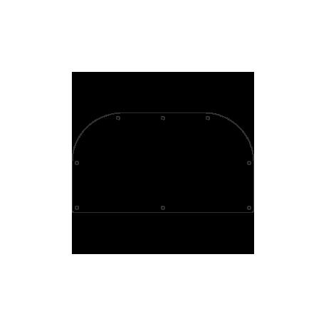Stahlplatte, unbehandelt, rutschfest S235JR