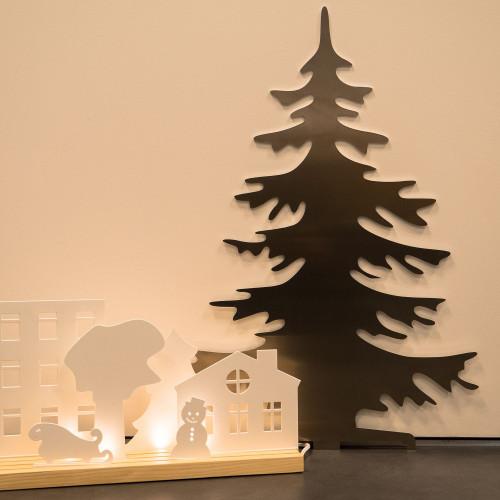 Arbre de Noël artificiel en aluminium