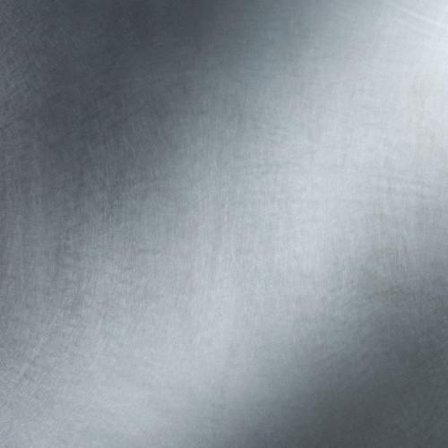 Plaque d'aluminium brut et brillant