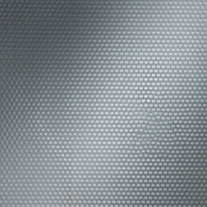 Perforated aluminum plate for DIY or renovation