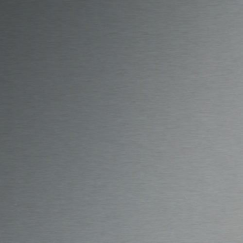 Plaque d'inox 304L brossé et protégé par un film