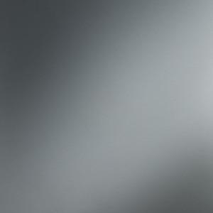 Plaque d'inox brillant et protégé par un film