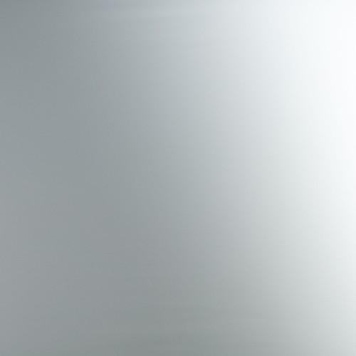 Plaque d'inox magnétique réfléchissant et filmé