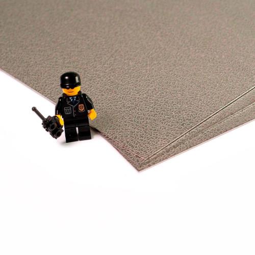 Plaque d'inox 304 décoratif texture cuir et filmé