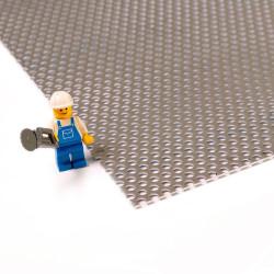 Plaque d'aluminium perforé 1050A pour bricolage ou rénovation