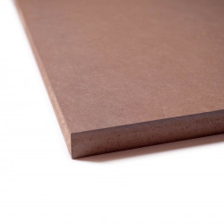 Medium-brun-Chocolat -MDF teinté dans la masse