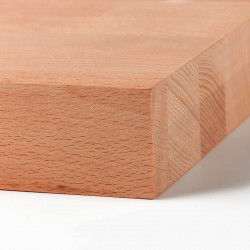 Panneau bois massif Hêtre Lamellé-Collé