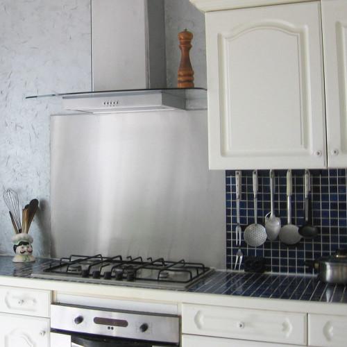 Dunstabzugshaube Küchenrückwänd Platte