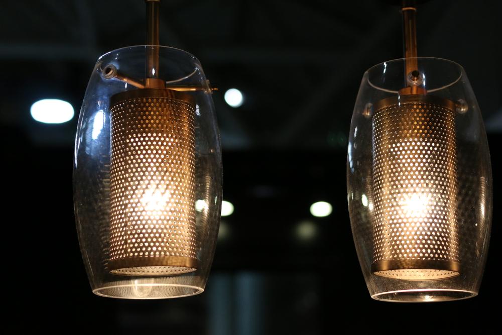 luminaires décoratifs en aluminium perforé