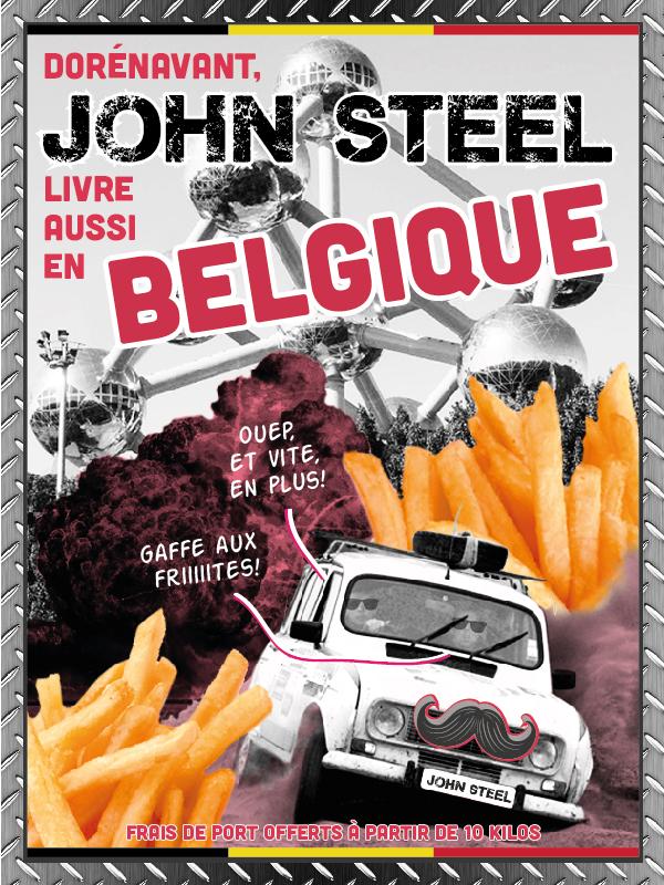 Acier, inox et aluminium découpé sur mesure et livré en Belgique