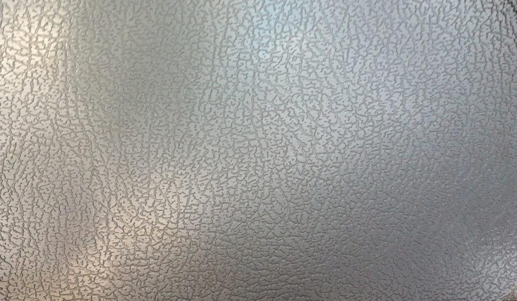 Inox décoratif texture cuir