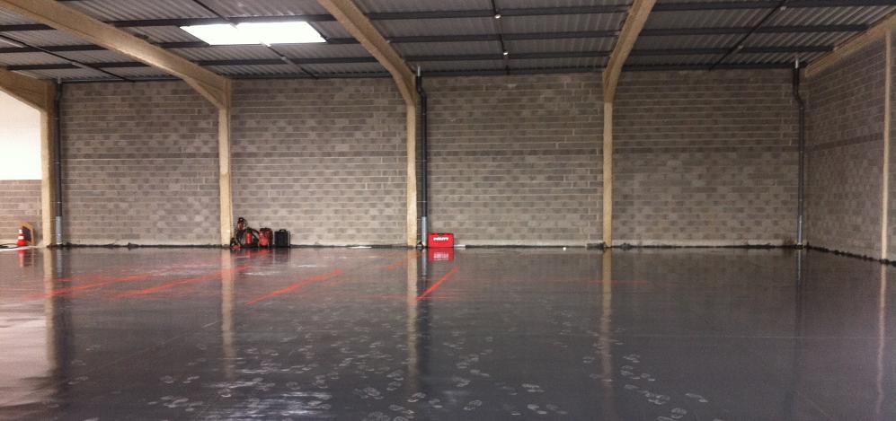Futur emplacement du laser dans le nouvel atelier