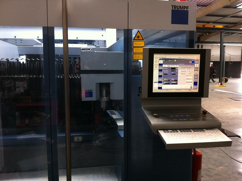 Test des commandes numériques du laser
