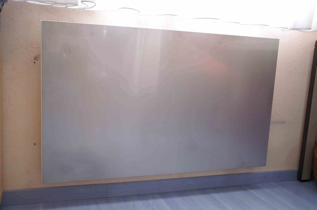 radiateur électrique design en inox
