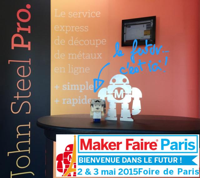 Die Zukunft ist hier! Maker Faire Paris