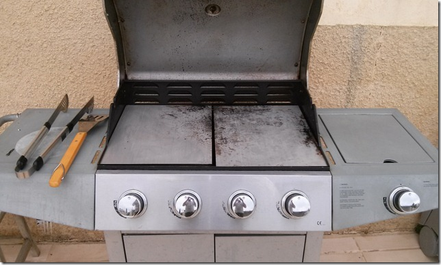 Plancha Barbecue Inox brut