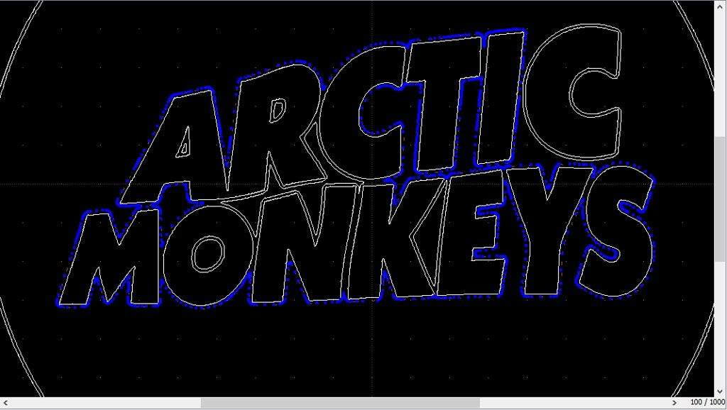 Vectorisation du logo Arctic Monkeys