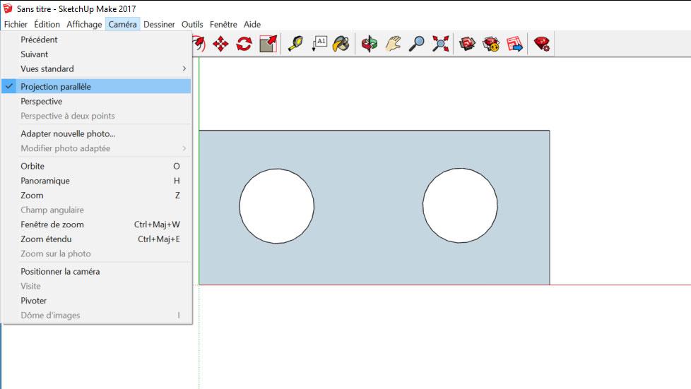 paramétrer sketchup pour export fichier dxf