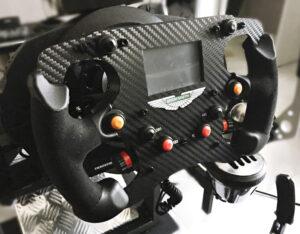 volant F1 aluminium réalisé