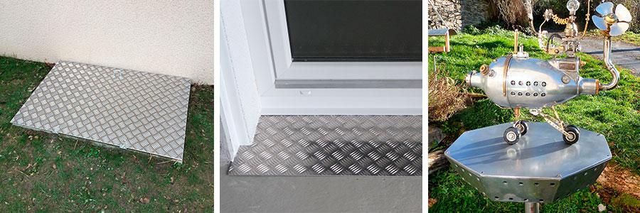Utilisations de l'aluminium en extérieur