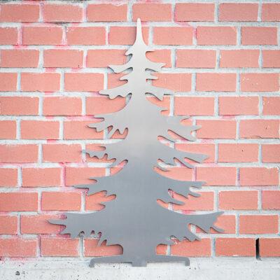 Sapin de Noël en aluminium