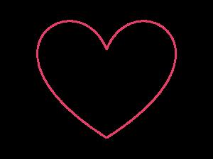 réaliser une découpe en forme de coeur