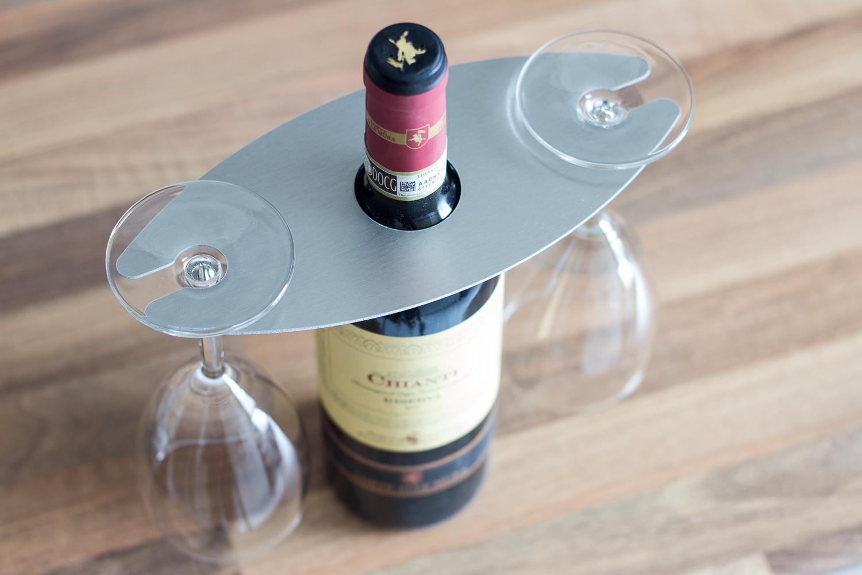 porte verres à vin