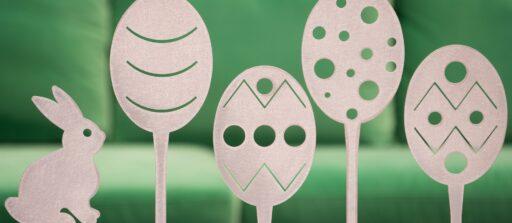 Décorations de Pâques pour l'extérieur personnalisées