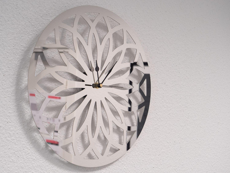 Installation horloge miroir