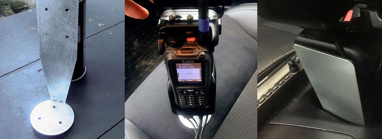 Transformer son porte-canette en support talkie-walkie