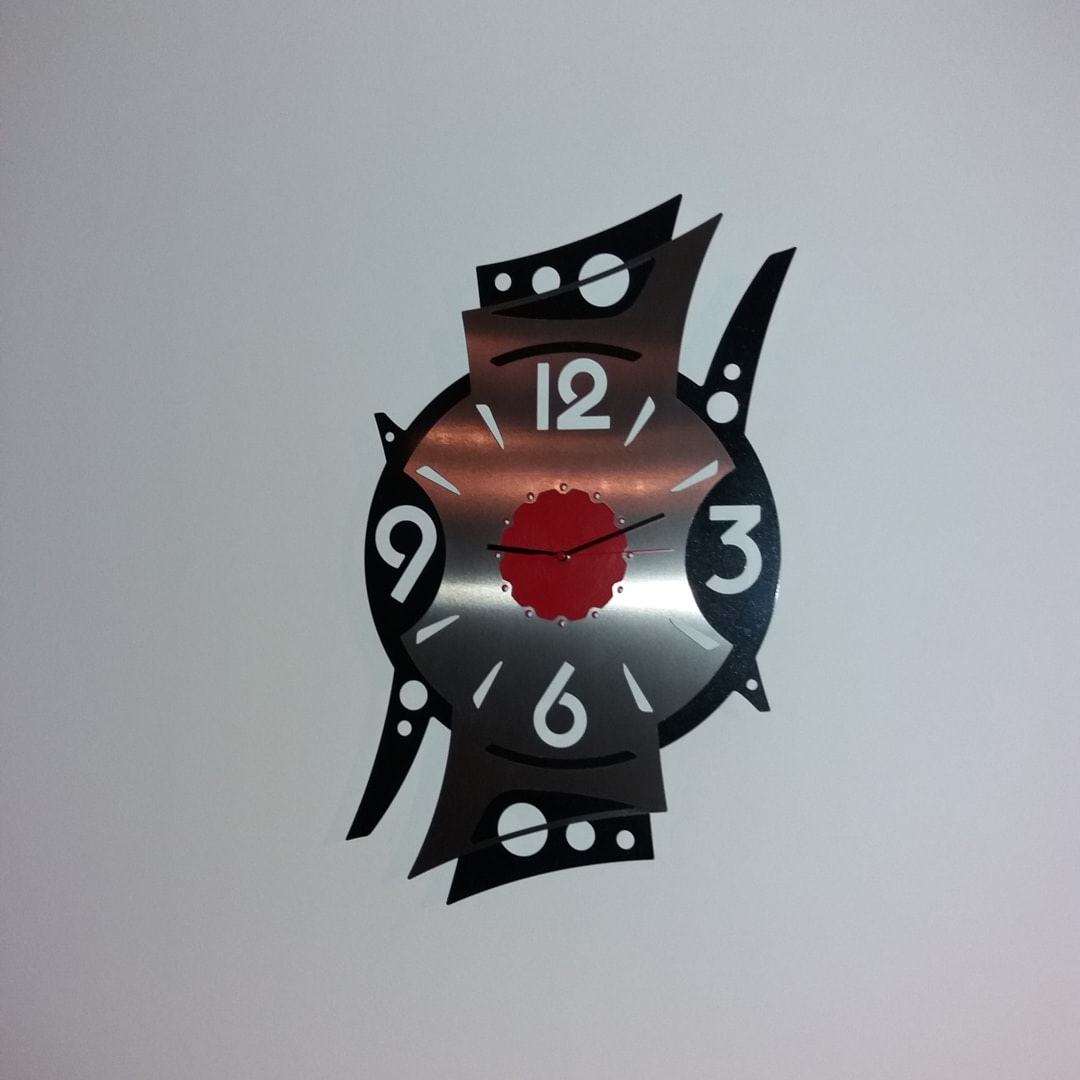 Horloge sur mesure de Benjamin
