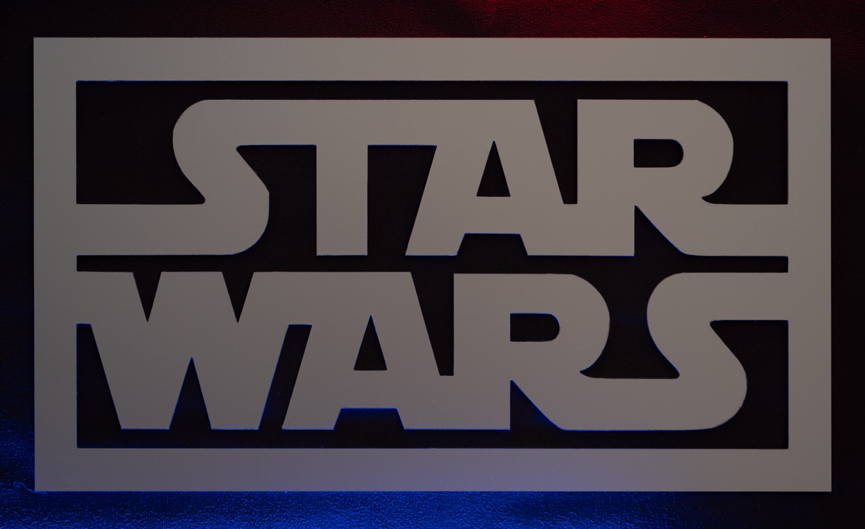 Découpe laser Logo Star Wars