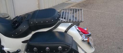 Porte-bagage sur-mesure pour une Indian Chief Classic