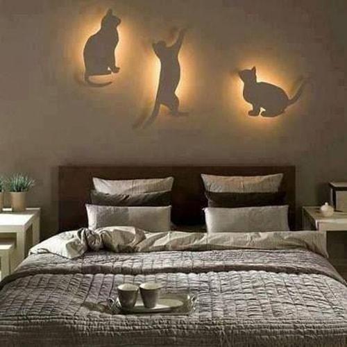 Luminaires chats