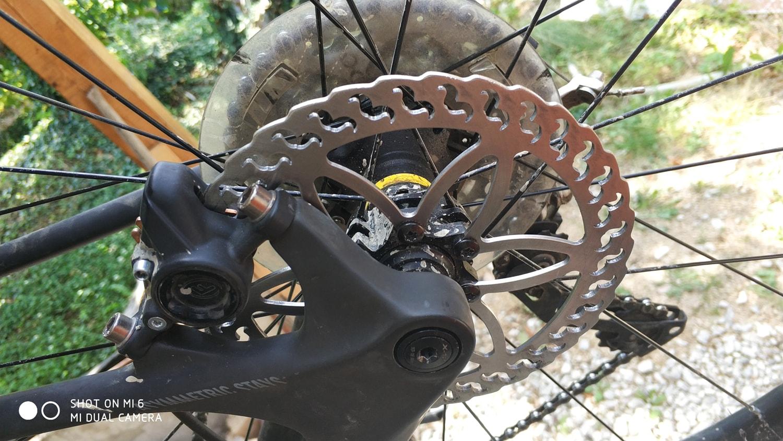 disque de frein pour vélo en inox