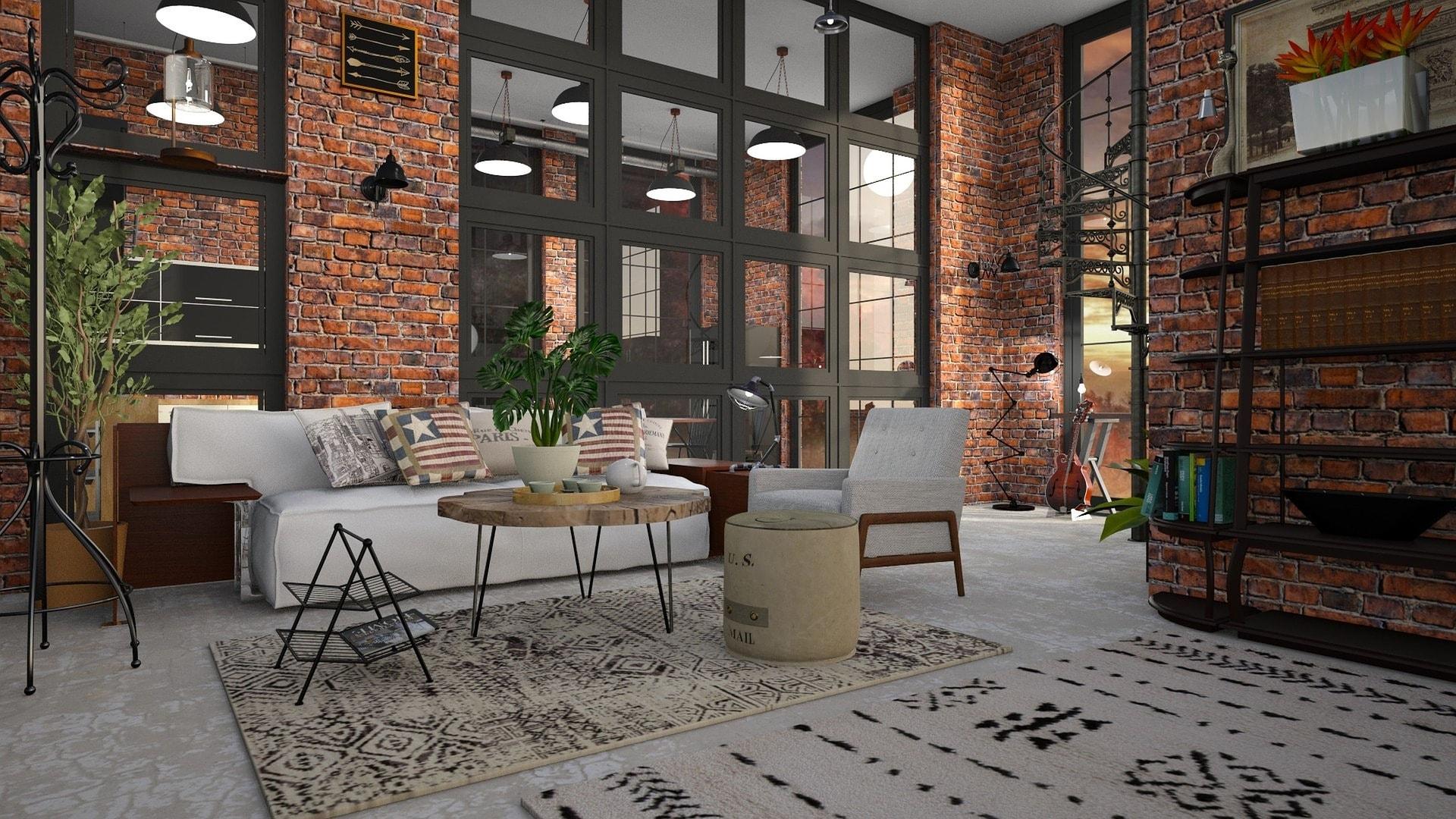 architecture loft industriel