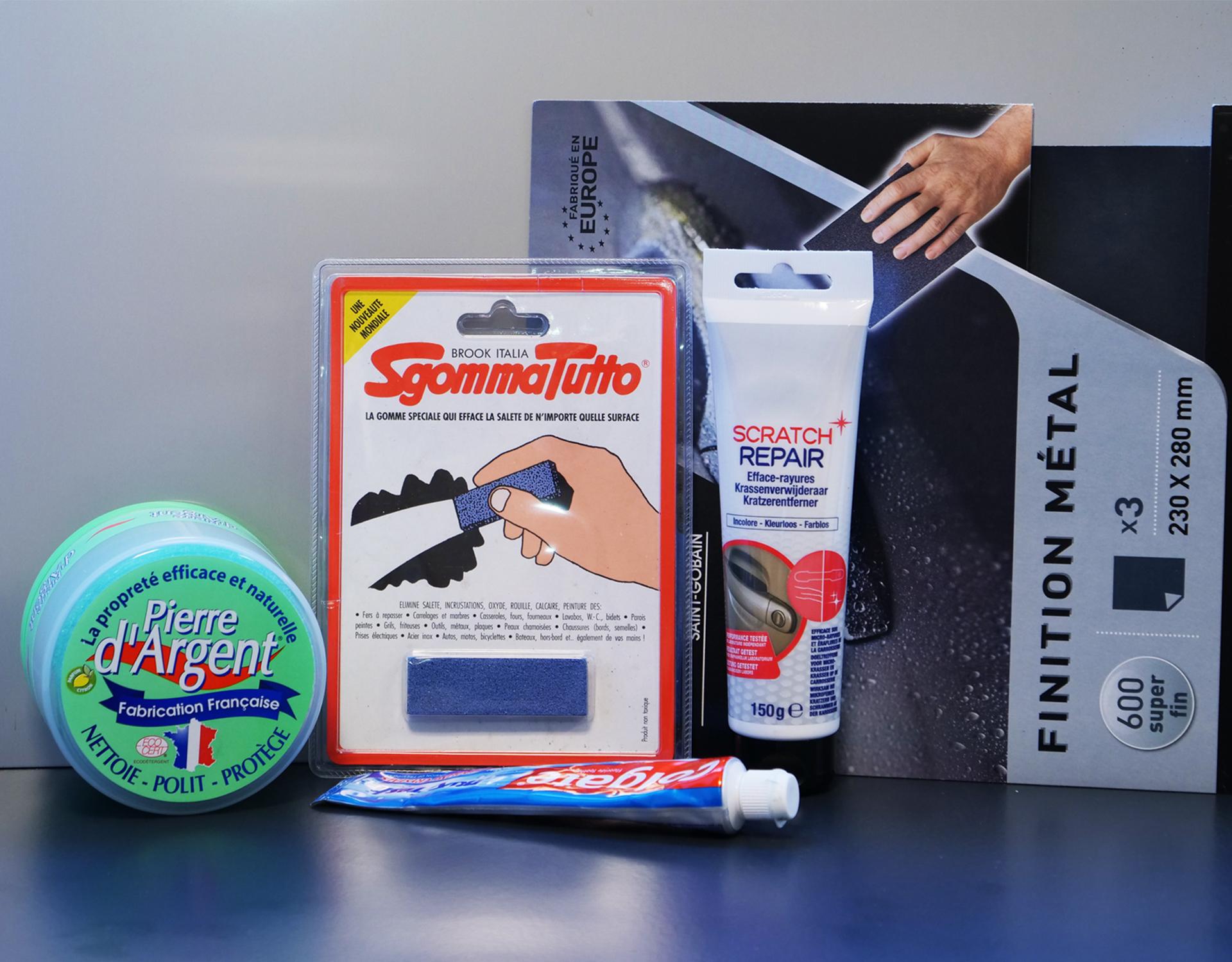 Micro Rayure Plan De Travail Stratifié comment atténuer les rayures sur le l'inox ? - john steel