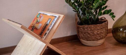 Comment fabriquer un porte revue en bois DIY ? 📰