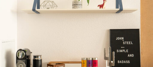 How to make a custom wooden shelf?