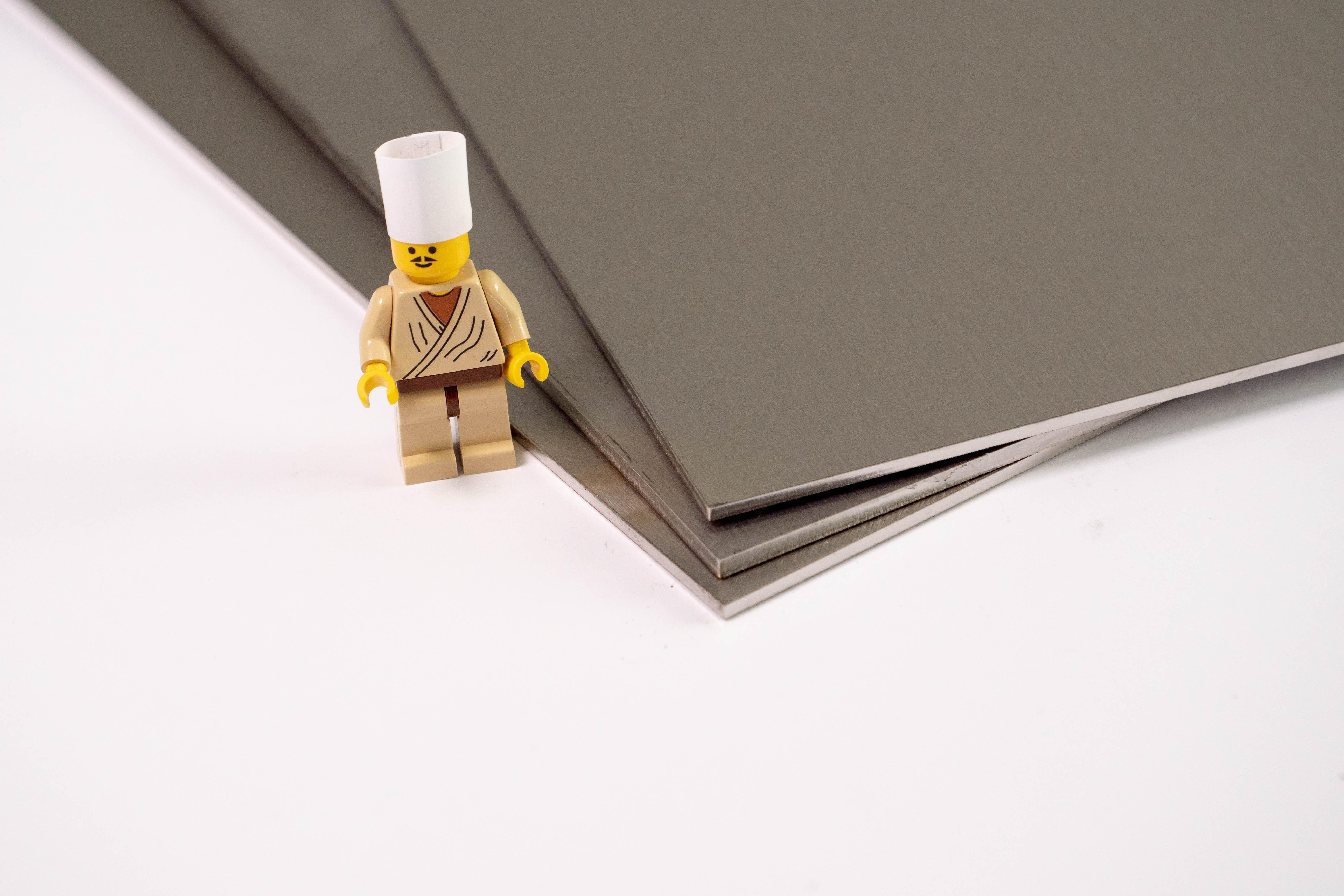 Feuille D Inox À Coller plaque inox 304l brossé alimentaire - john steel