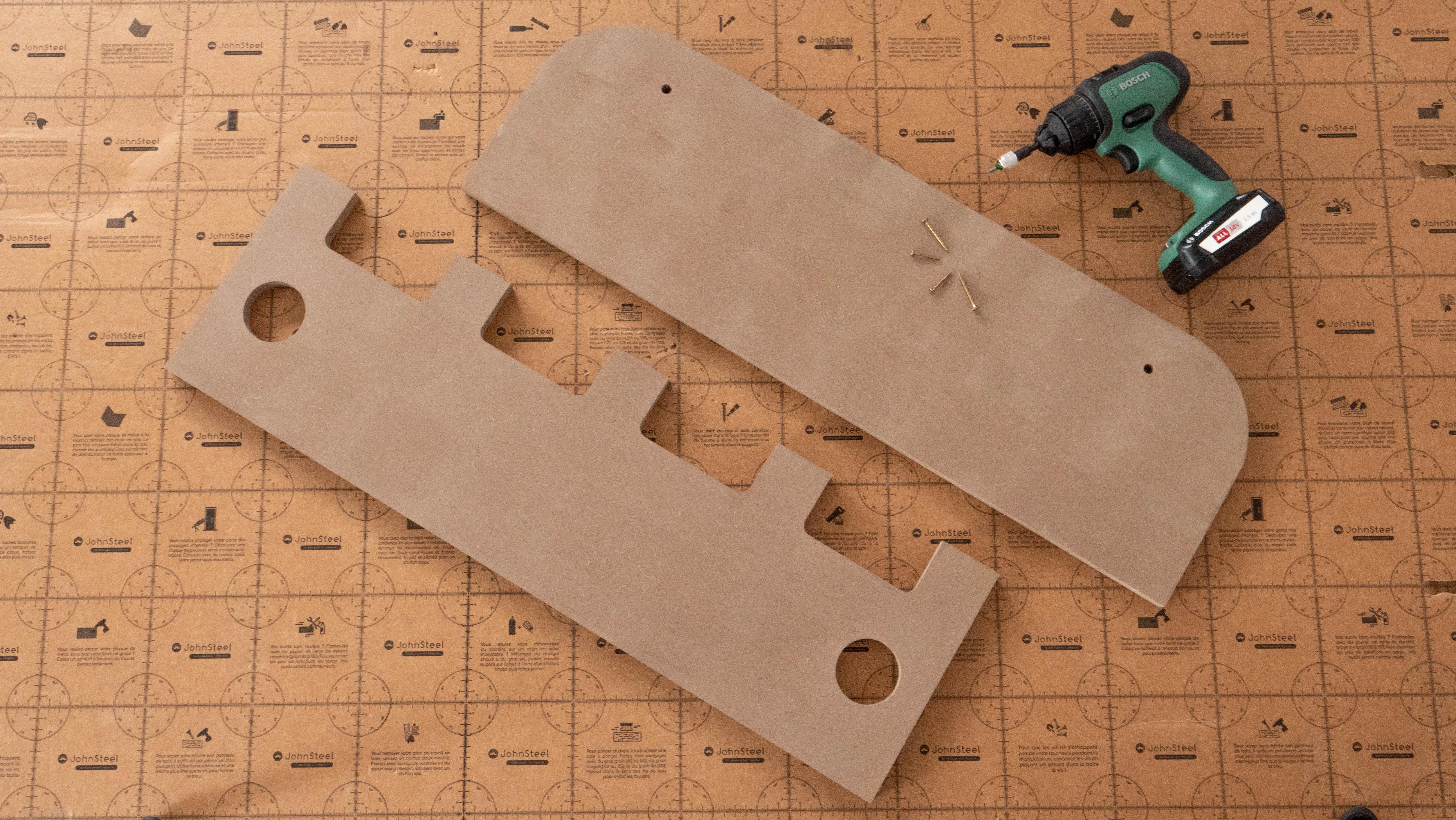 construire un porte manteau en bois