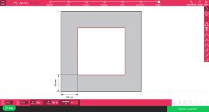 capture d'écran configurateur de John Steel