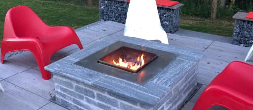 Découper une platine d'encadrement pour un Fire Pit 🔥