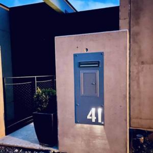 numero de maison metal personnalisé